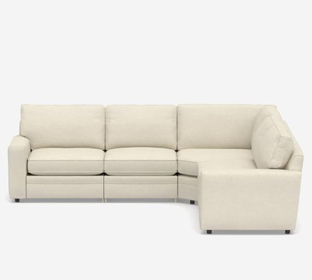 Pearce Square Arm Upholstered 5-Piece Reclining Sectional with Wedge