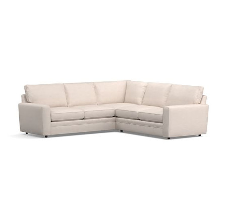 Pearce Square Arm Upholstered 2-Piece L-Shaped Sectional