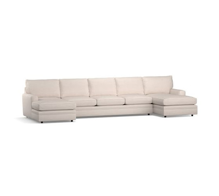Pearce Square Arm Upholstered U-Chaise Sectional