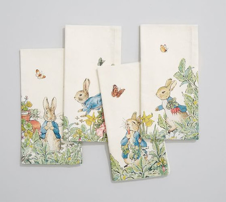 Peter Rabbit Garden Napkins