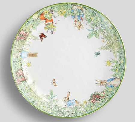 Peter Rabbit Garden Serving Platter