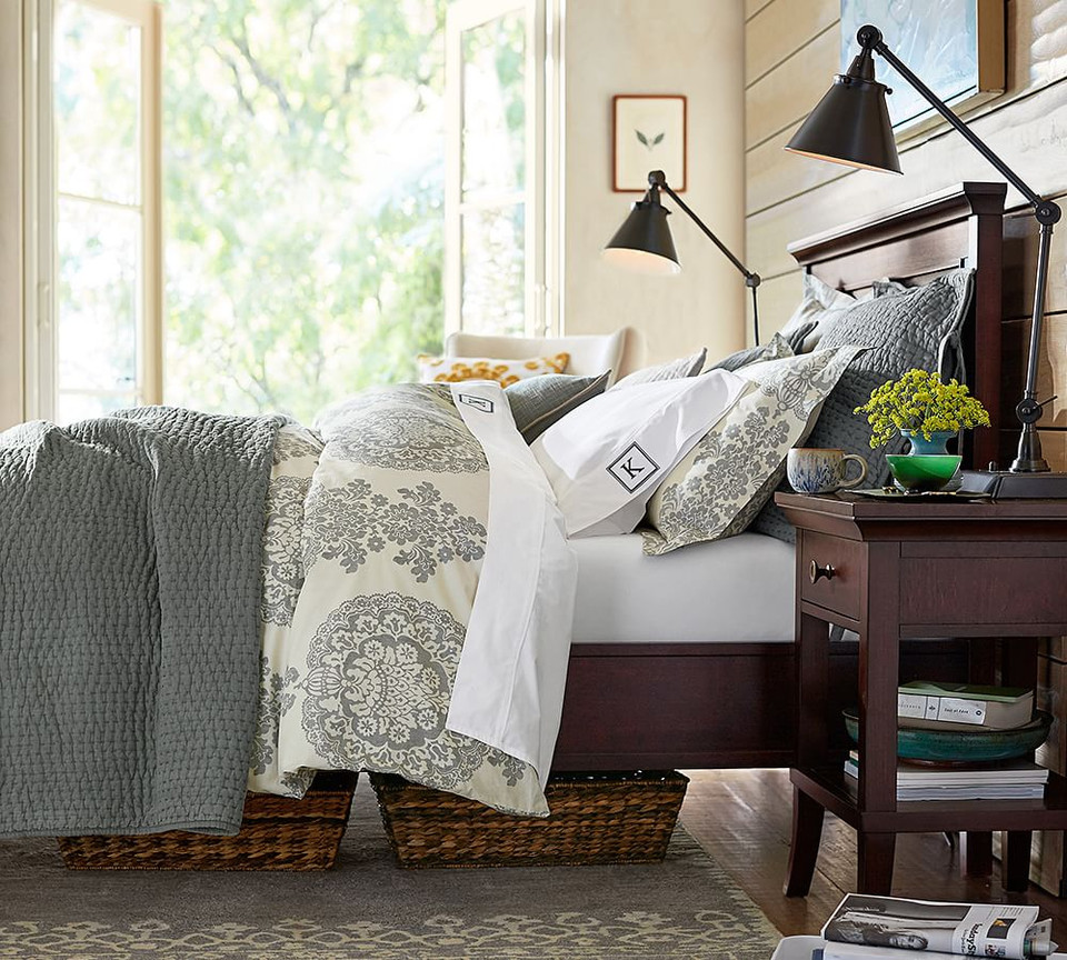 Pick Stitch Handcrafted Cotton Linen Blend Quilt Amp Shams