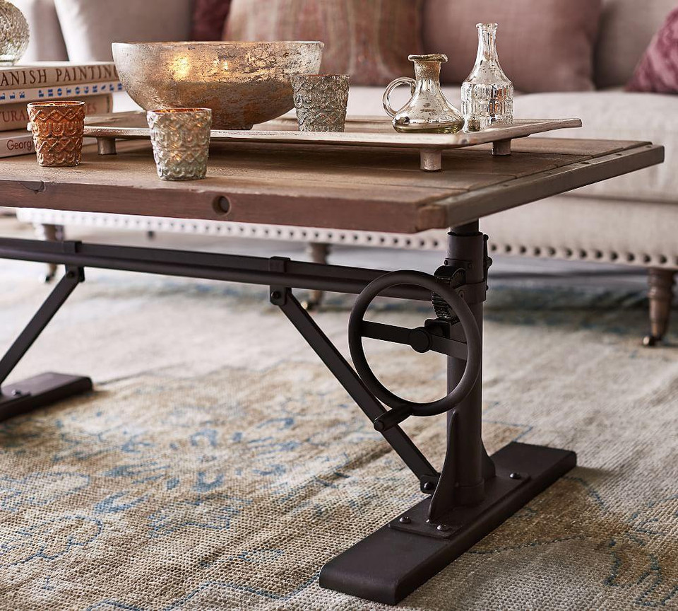 Pittsburgh Crank Coffee Table Pottery Barn Canada