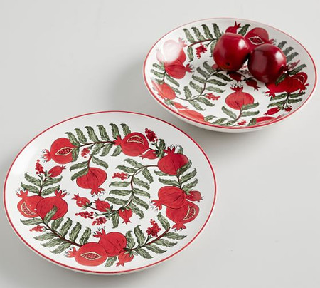 Pomegranate Serveware Collection