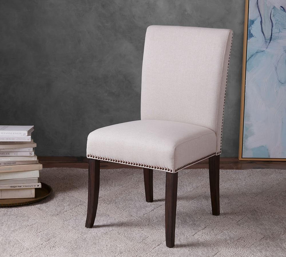 Porter Dining Chair | Pottery Barn CA |Delaney Dining Chair Pottery Barn