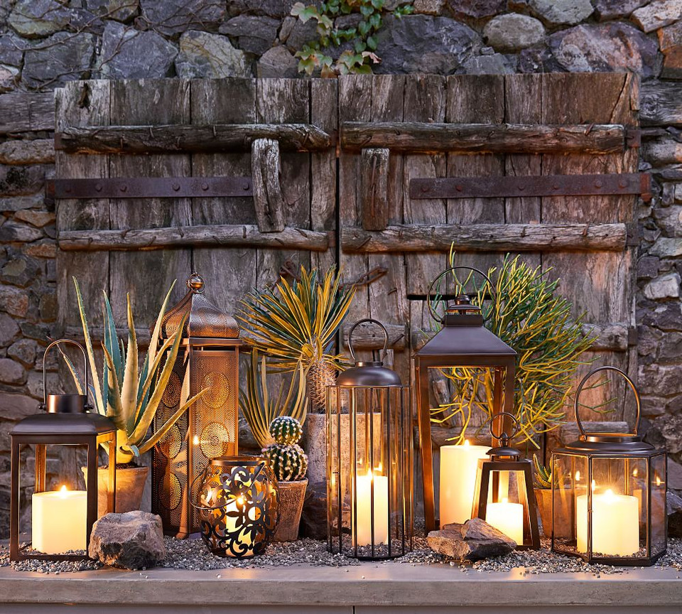 Premium Flicker Flameless Outdoor Candle