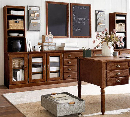 Printer's Wall Suite, Tuscan Chestnut