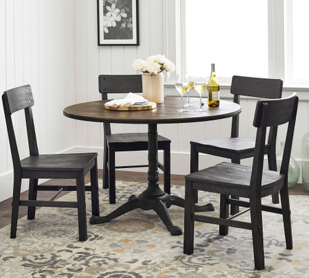 Rae Round Pedestal Dining Table Pottery Barn Canada