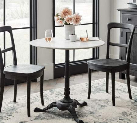 Rae Round Marble Bistro Table