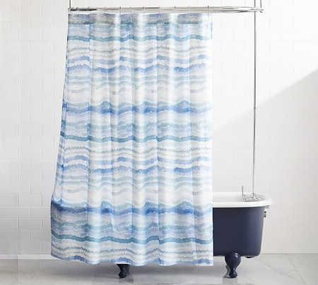 Rebecca Atwood Organic Surf Printed Shower Curtain