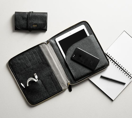 Personalized Reese Tech Portfolio Collection - Black