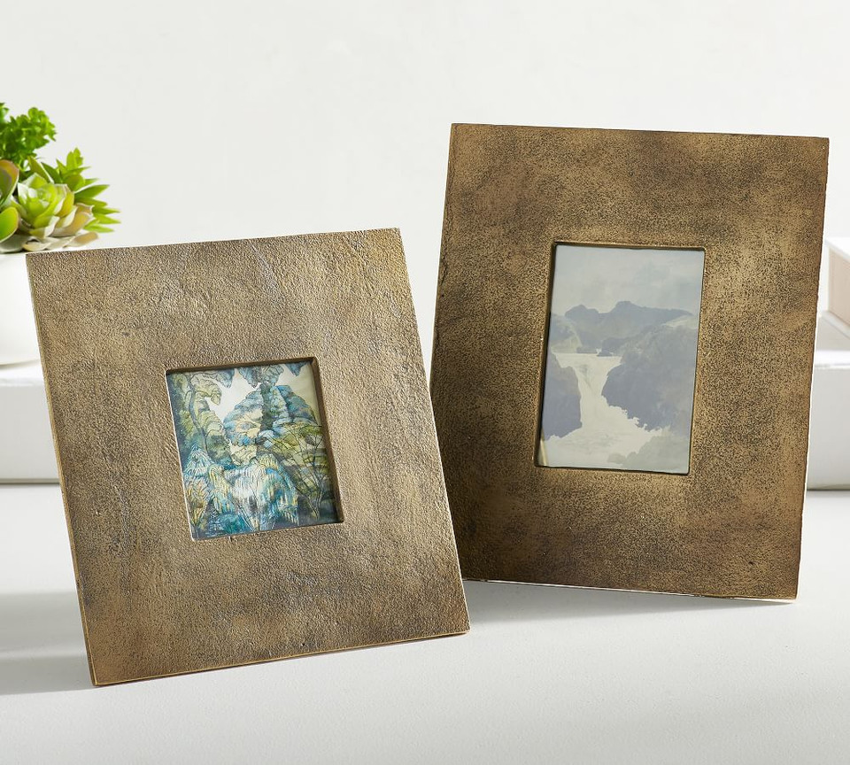 Rena Brass Picture Frames Pottery Barn Ca