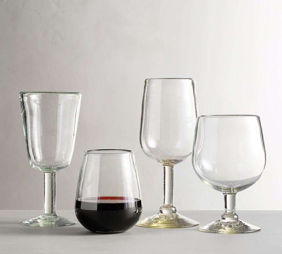 Santino Recycled Wine Glasses