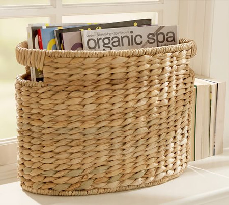 Seagrass Oval Basket - Savannah