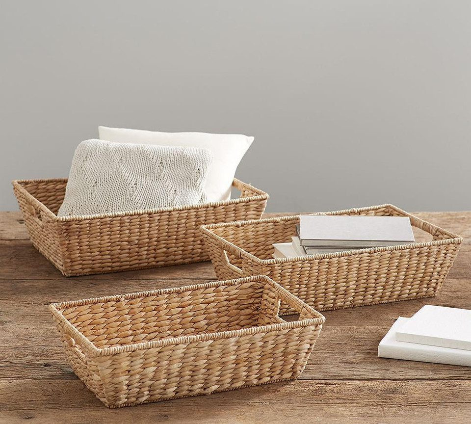 Seagrass Underbed Baskets -Savannah