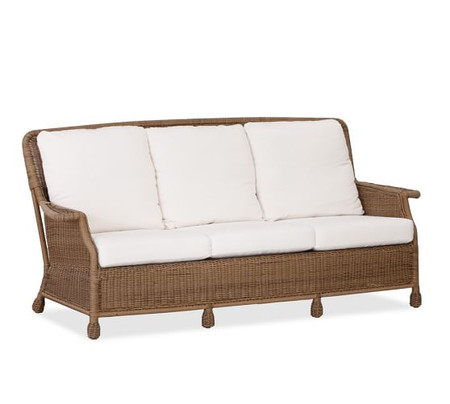 Saybrook All-Weather Wicker Sofa