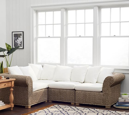 Seagrass 4-Piece Sectional