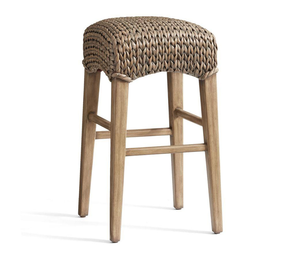 Seagrass Backless Bar & Counter Stool