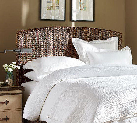 Seagrass Bed & Headboard