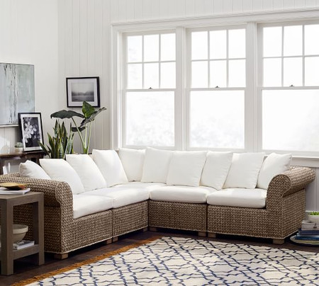 Seagrass 5-Piece Sectional