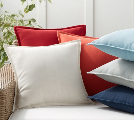 PB Classic Solid Indoor/Outdoor Pillow
