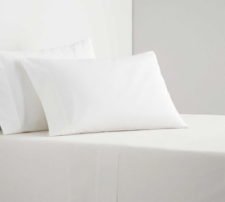 Spencer Washed Cotton Organic Percale Pillowcases