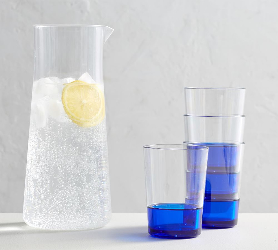 Stacking Tumblers & Pitcher Set