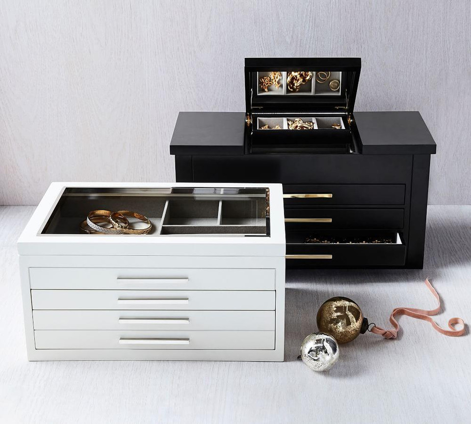 Stella Jewelry Boxes - Black