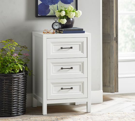 Sussex 3-Drawer Nightstand