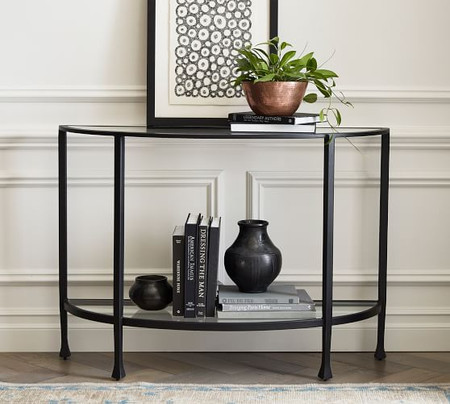Tanner Demilune Console Table