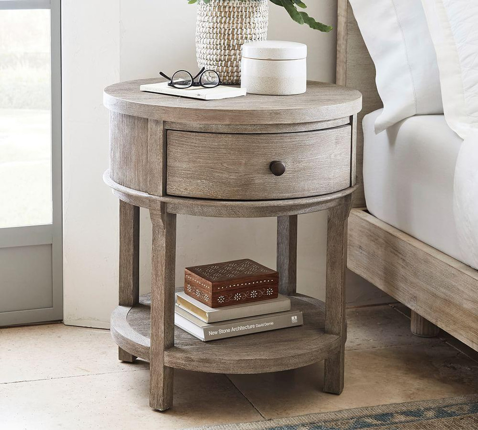 Toulouse Round Nightstand Pottery Barn Canada