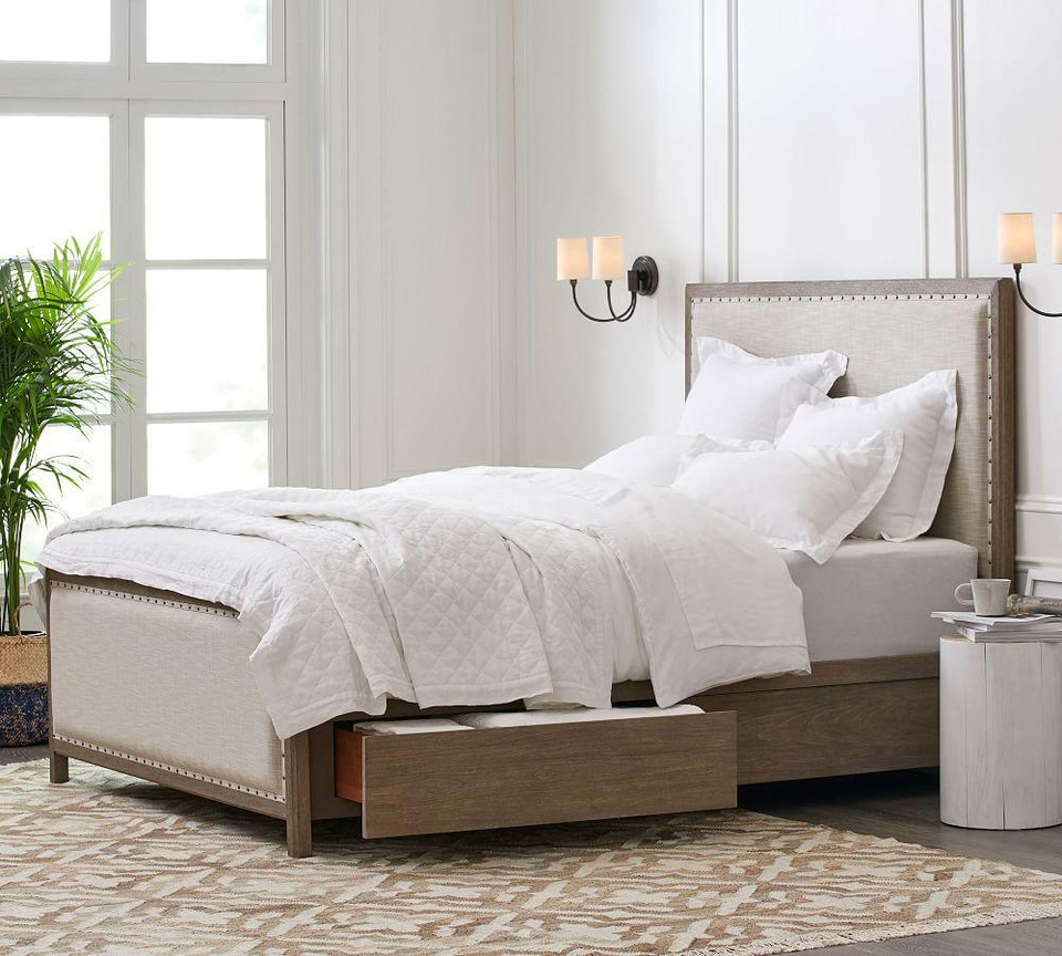 Toulouse Storage Bed