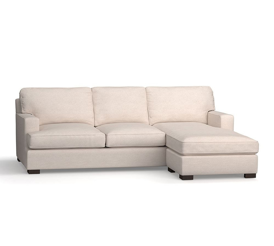 Townsend Square Arm Upholstered Sofa with Reversible Storage Chaise Sectional