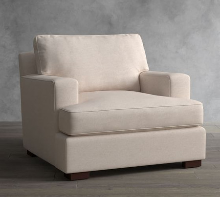 Townsend Square Arm Upholstered Armchair