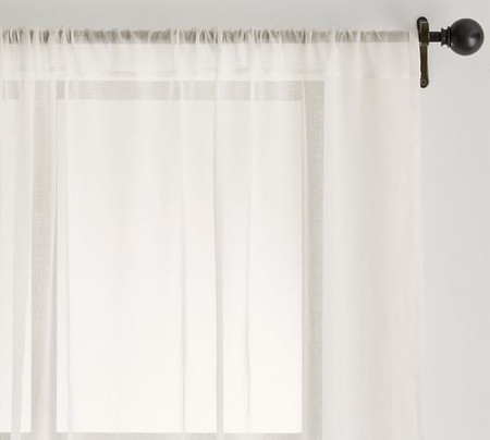 Classic Voile Sheer Curtain - Classic Ivory