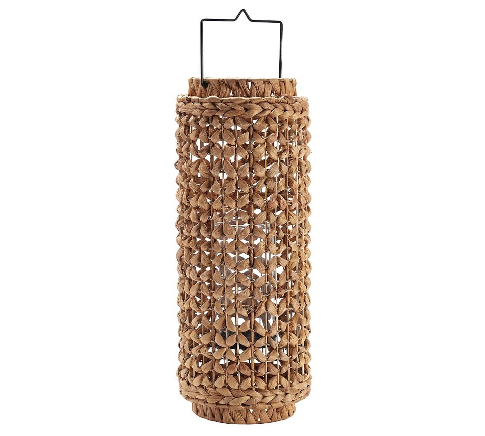 Waverly Handwoven Water Hyacinth Lanterns