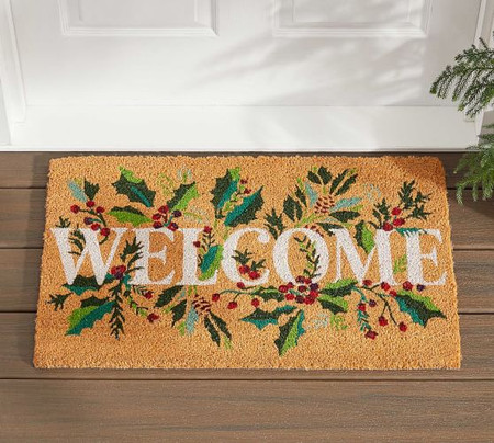 Welcome Holly Doormat