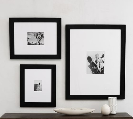 Wide Profile Wood Picture Frames