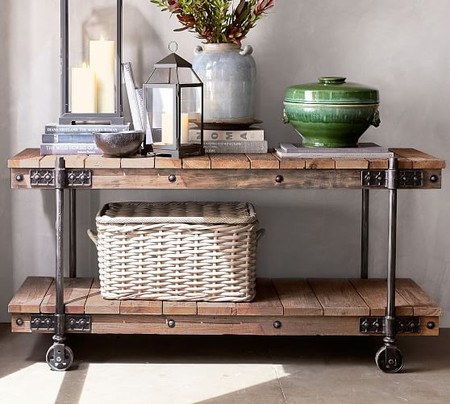 Williams Reclaimed Wood Media Console