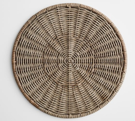 Willow Wicker Charger