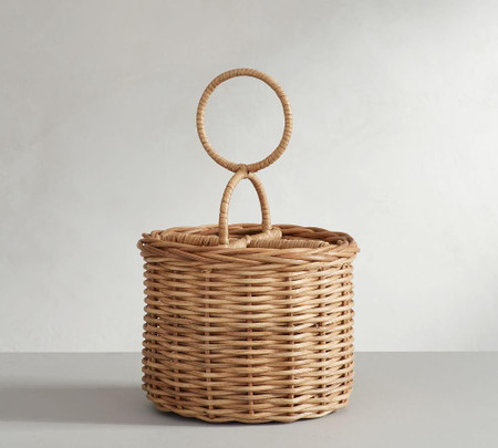 Willow Woven Flatware Caddy - Natural