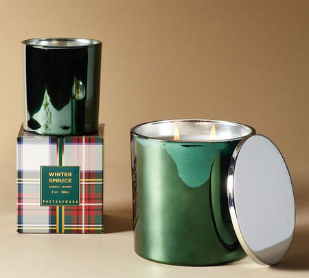 Winter Spruce Scented Candles