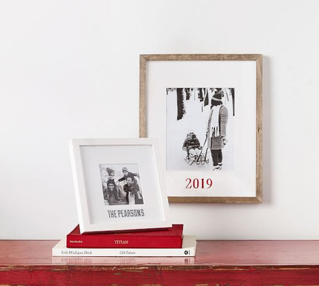 Personalized Wood Gallery Single Opening Frames