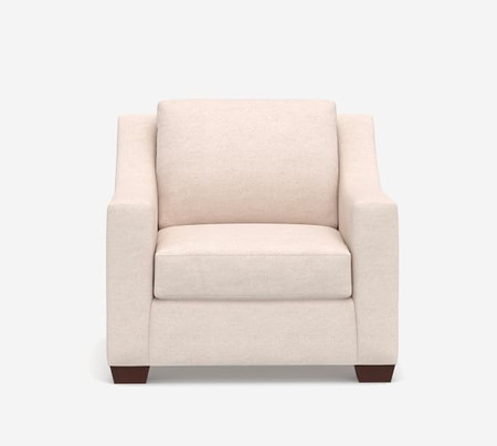 York Slope Arm Upholstered Armchair